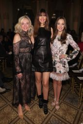 Laura Osnes - Dennis Basso Fashion Show at NYFW 09/11/2017