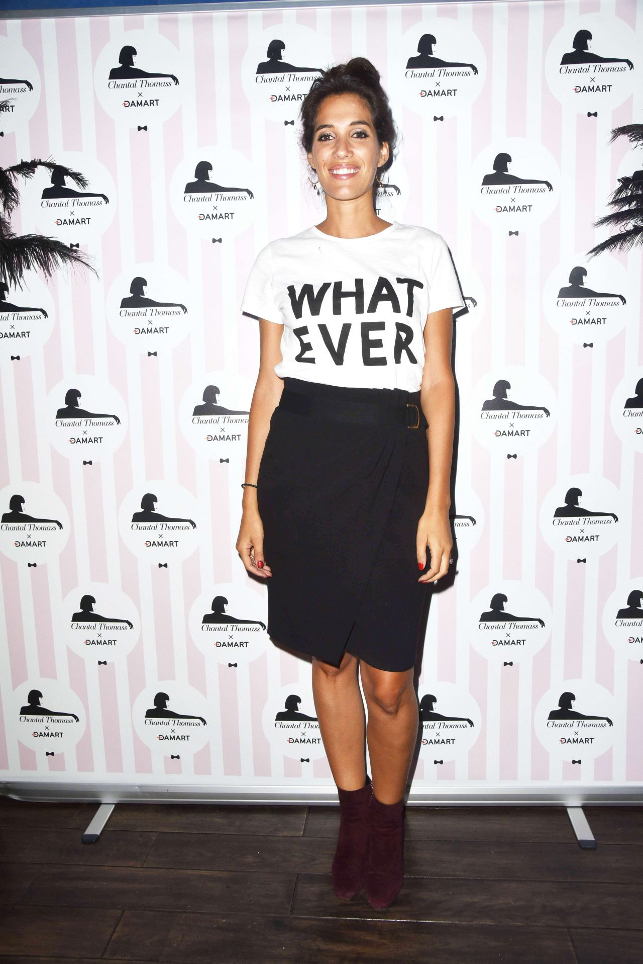 Laurie Cholewa – Chantal Thomass Damart Thermolactyl Show in Paris 09/14/2017