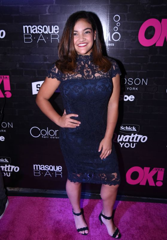Laurie Hernandez – OK! Magazine's Fall Fashion Week Event in New York 09/13/2017