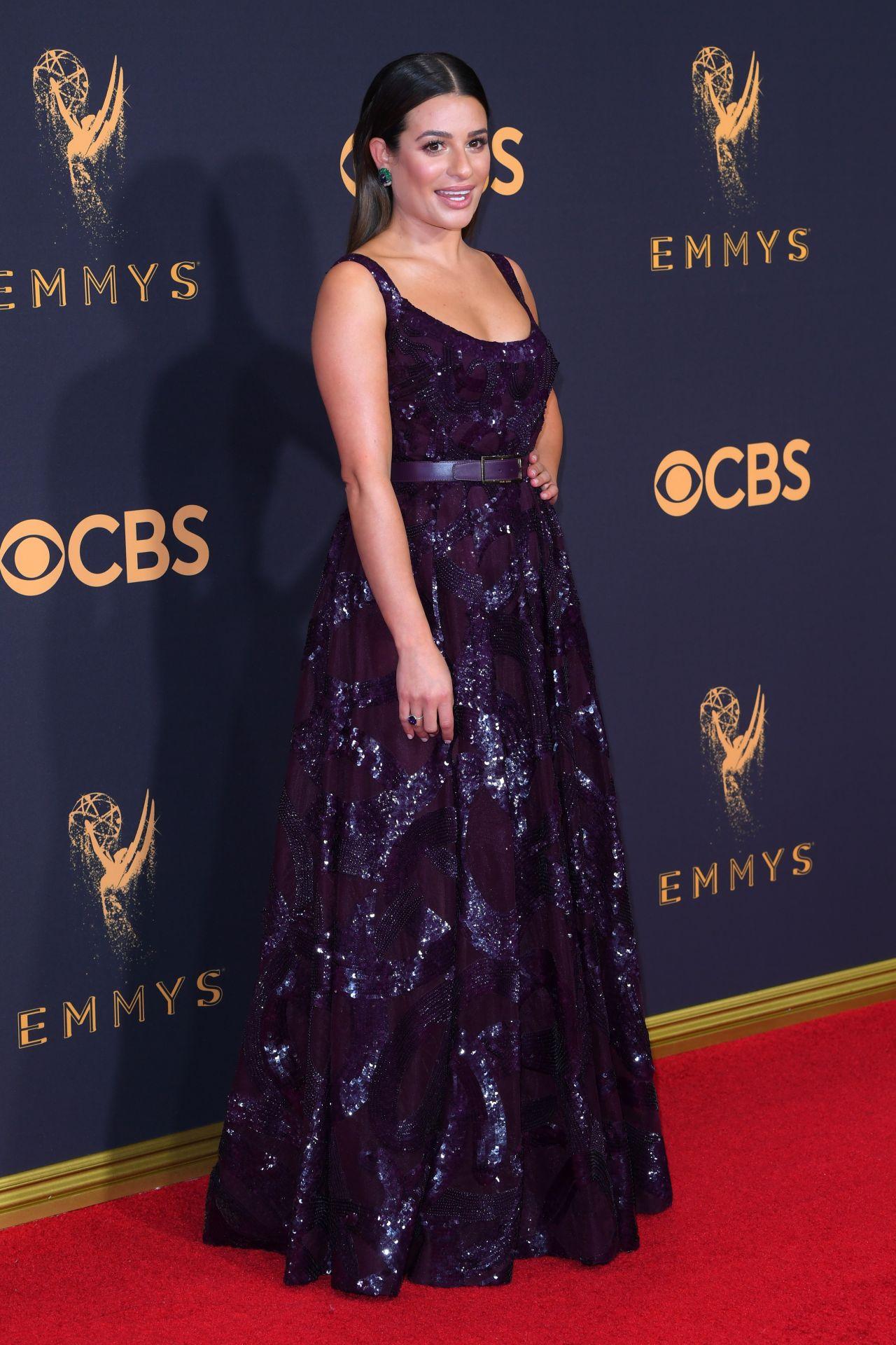 Lea Michele – Emmy Awards in Los Angeles 09/17/2017