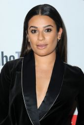 Lea Michele - YouTube TV & ABC Tuesday Block Party in NYC 09/23/2017