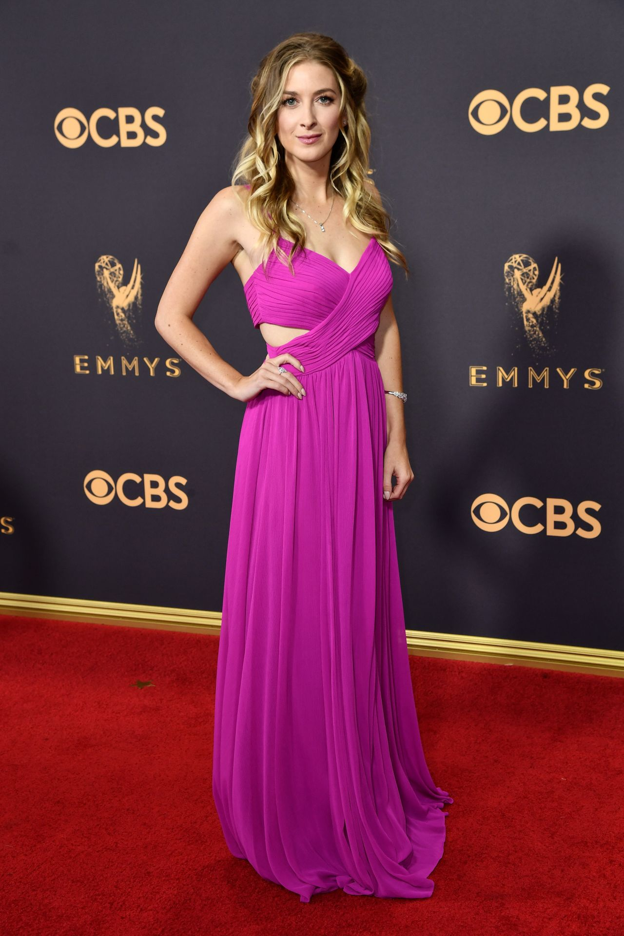 Leanne Aguilera – Emmy Awards in Los Angeles 09/17/2017