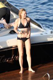 Leslie Bibb in Bikini - Amalfi Coast in Italy 08/30/2017