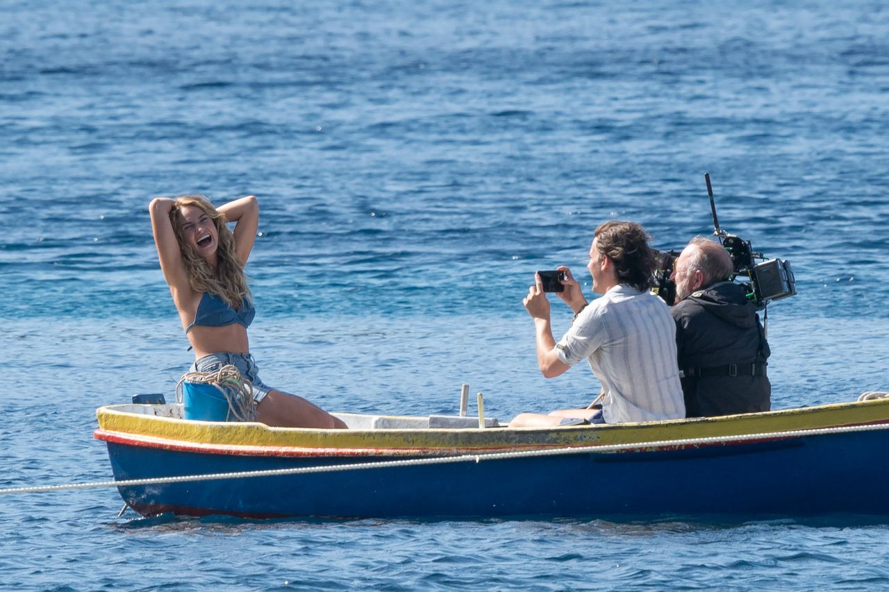 Lily James on Croatian Set of Mamma Mia: Here We Go Again ...