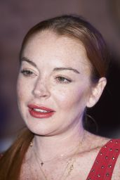 Lindsay Lohan - Jorge Vazquez Spring Fashion Show in Madrid 09/18/2017