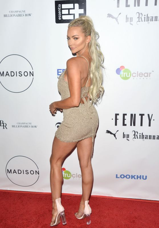 Lindsey Pelas - Fenty Puma Launch Party in Beverly Hills 09/27/2017