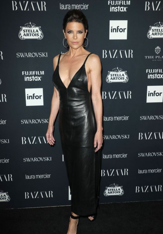 Lisa Rinna – Harper's Bazaar ICONS Party in New York 09/08/2017