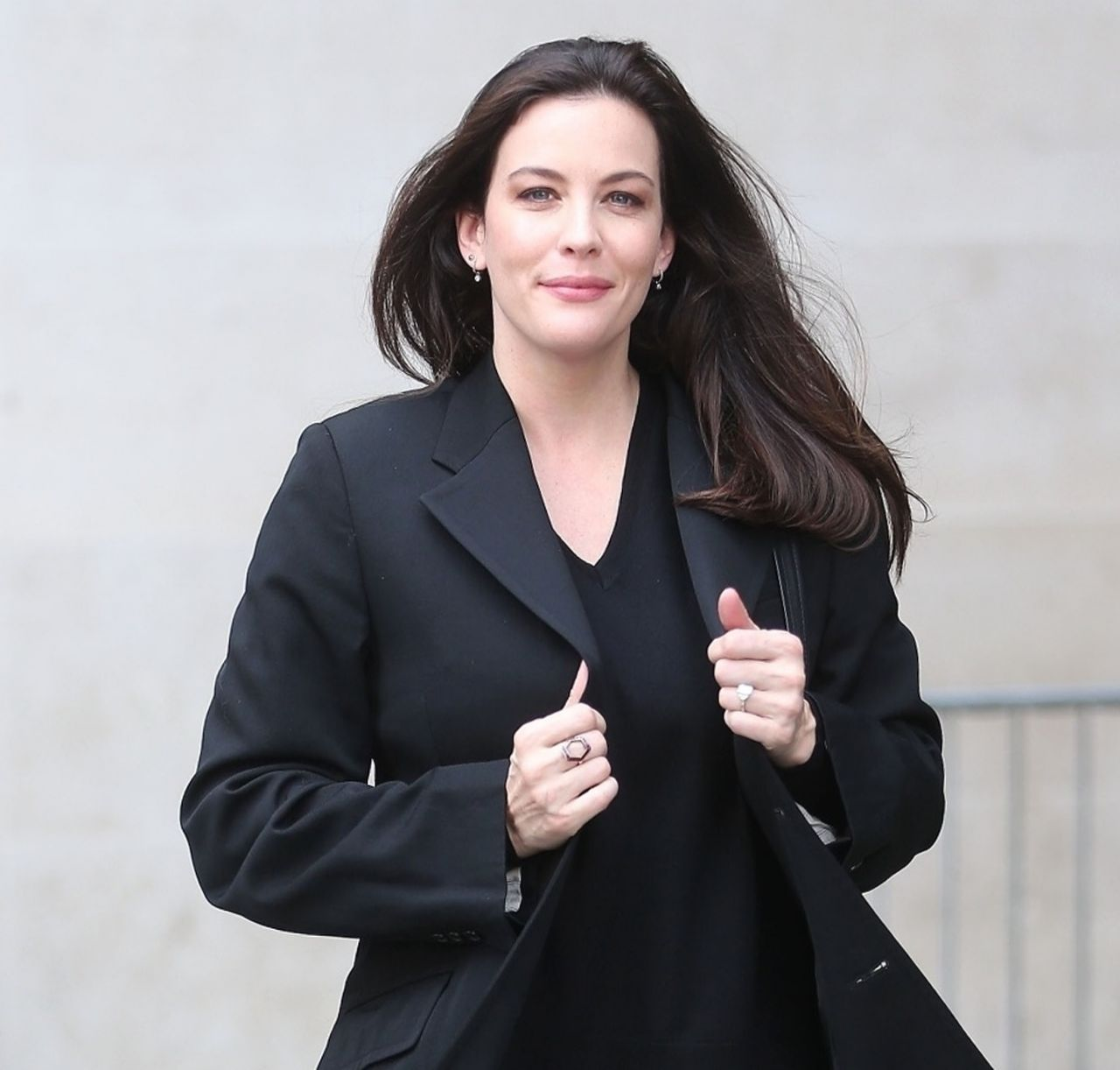 Liv Tyler - Leaves the BBC Broadcasting House in London 09 ...