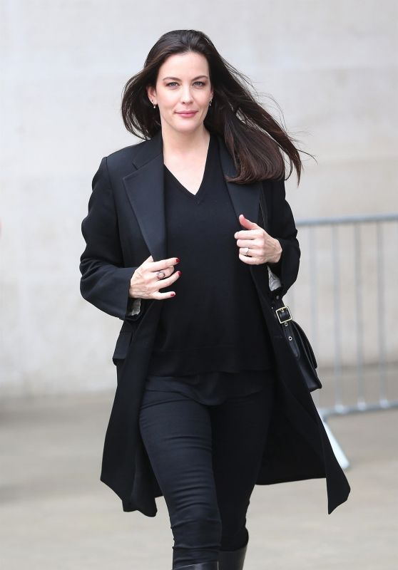Liv Tyler - Leaves the BBC Broadcasting House in London 09/26/2017