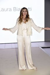 Lorella Cuccarini – Laura Biagiotti Show in Milan 09/24/2017