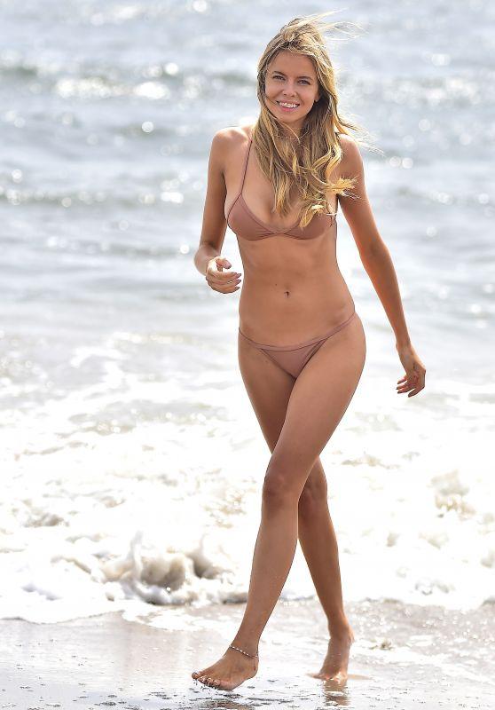 Louisa Warwick Bikini Photoshoot - Hamptons, NY 08/30/2017