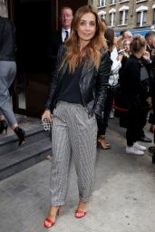 Louise Redknapp - Topshow LFW in London 09/17/2017