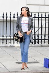 Lucy Mecklenburgh Casual Style - London 09/22/2017