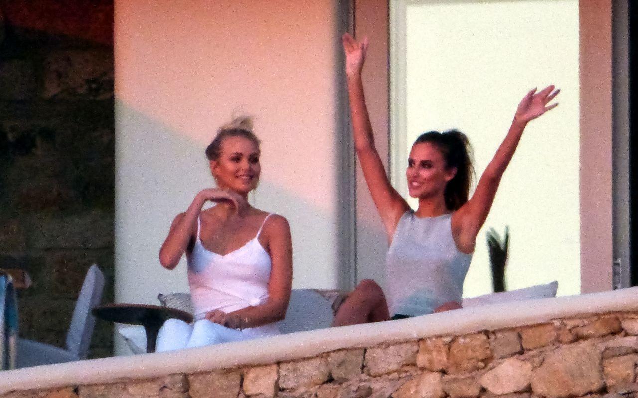 Lucy Watson Bikini Candids - Mykonos Island, Greece 08/31/2017