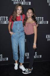 Mackenzie Ziegler – Knott's Scary Farm Celebrity Night in Buena Park CA 09/29/2017