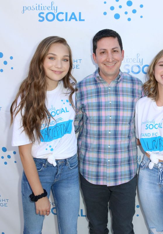 Maddie & Mackenzie Ziegler - Positively Social Launch Event in Beverly Hills 09/24/2017