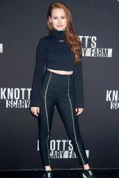 Madelaine Petsch – Knott's Scary Farm Celebrity Night in Buena Park 09/29/2017