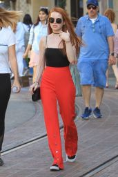 Madelaine Petsch - Shopping at The Grove in Hollywood 09/05/2017
