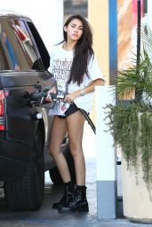 Madison Beer - Pumping Gas in Los Angeles 08/31/2017