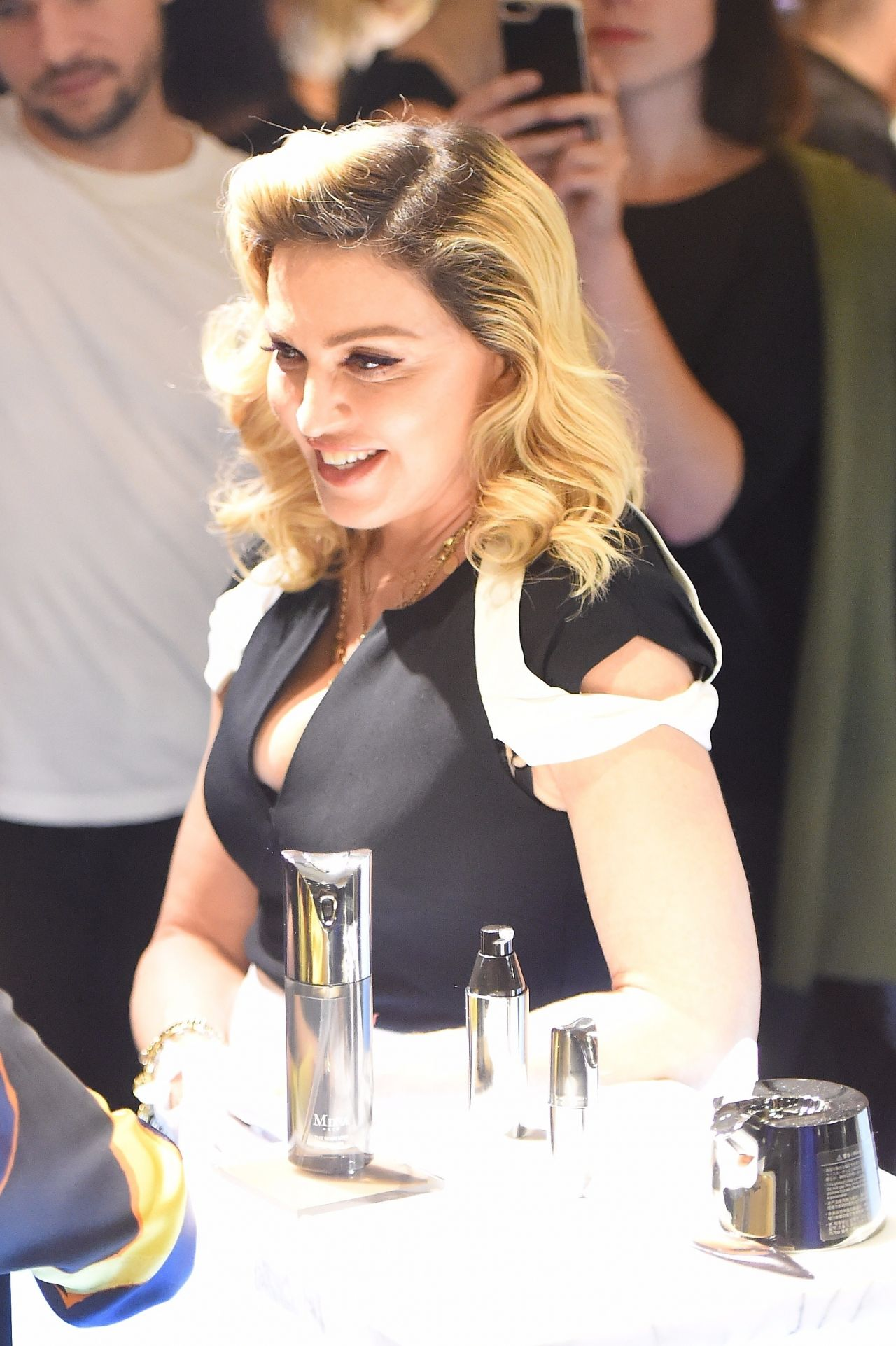 Madonna Promotes Her Mdna Skin Line In Nyc 09 26 2017