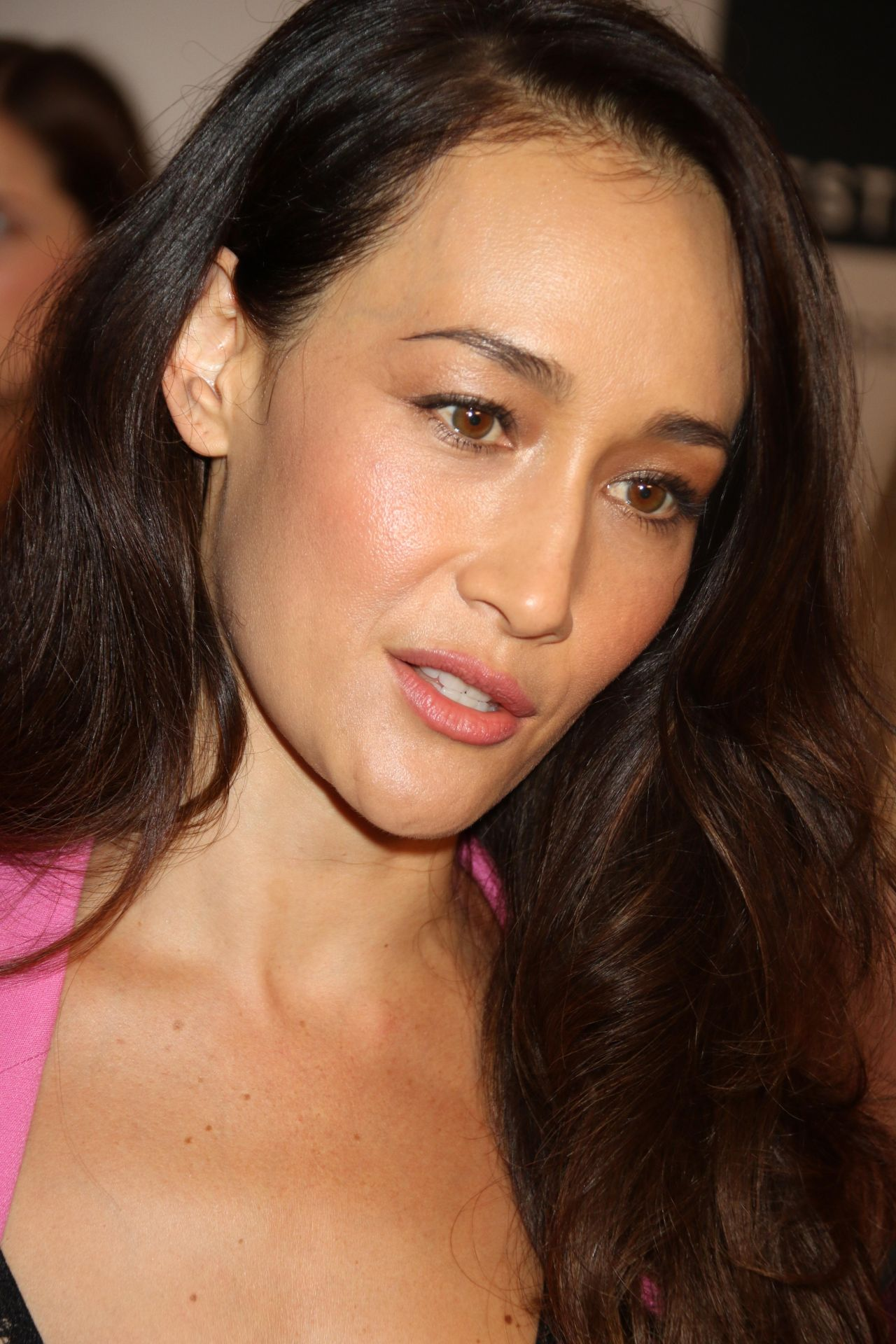 Maggie Q Quot Designated Survivor Quot Screening In Nyc