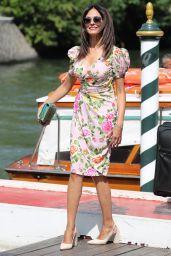 Maria Grazia Cucinotta - Arriving at 74th Venice Film Festival 09/02/2017
