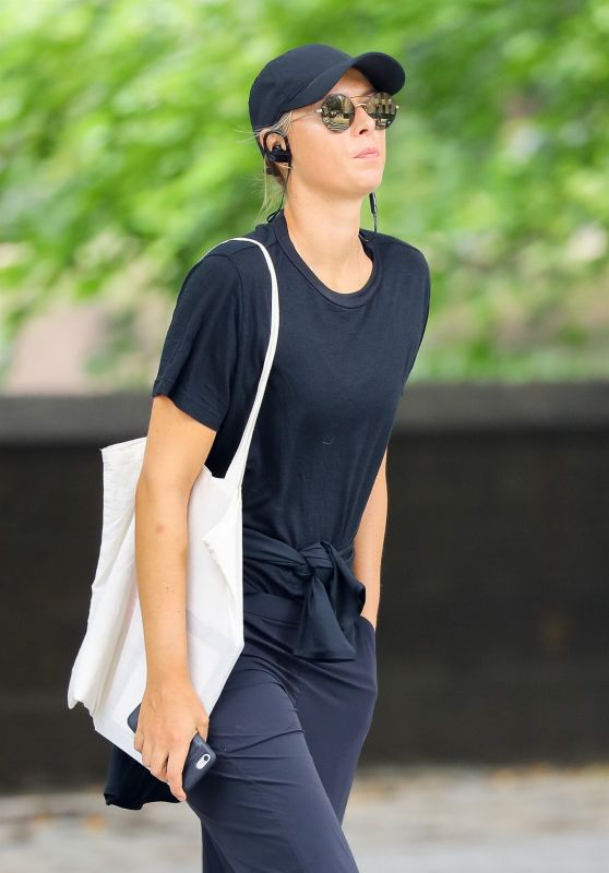 Maria Sharapova - Out in NYC 08/01/2017
