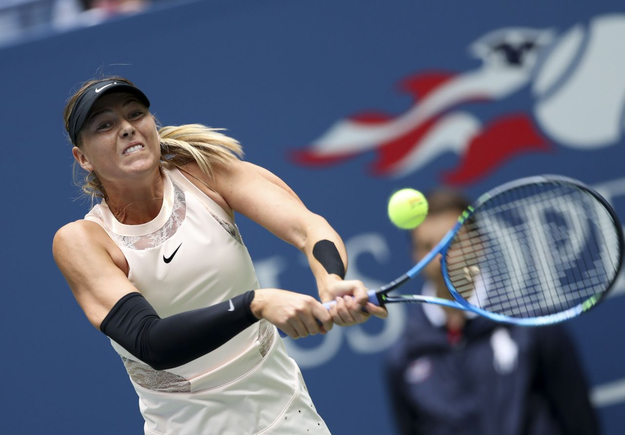 Maria sharapova tennis idea