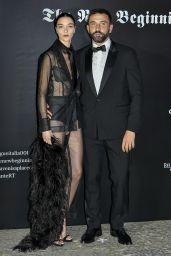 Mariacarla Boscono – Vogue Italia Party in Milan 09/22/2017
