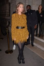 Marie-Ange Casta – L'Oreal X Balmain Party in Paris 09/28/2017