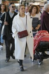 Marion Cotillard - Airport in Milan, Italy 09/25/2017