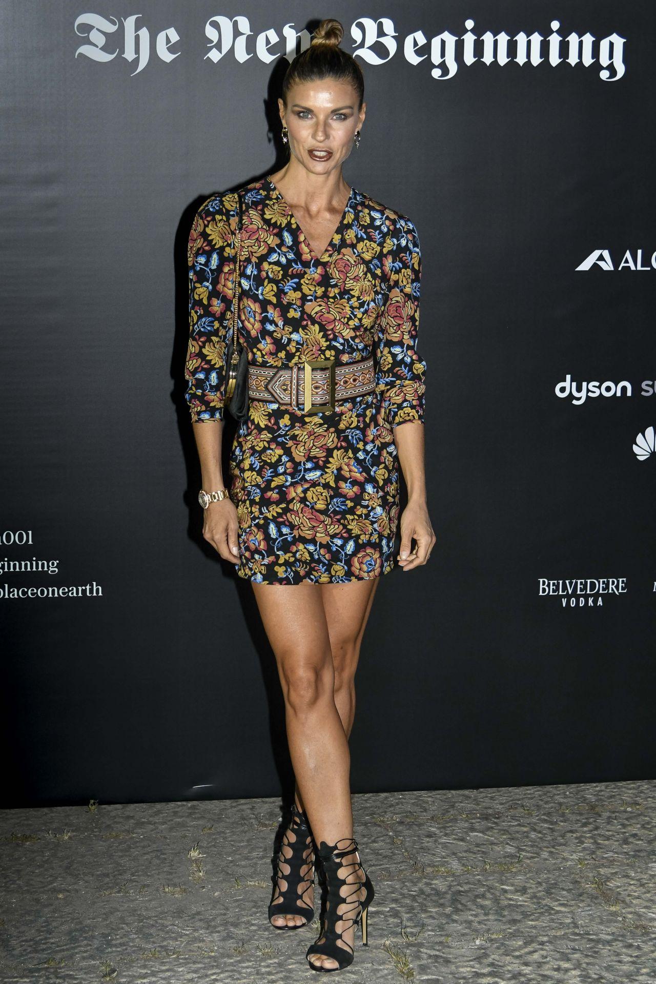 Martina Colombari – Vogue Italia Party in Milan 09/22/2017