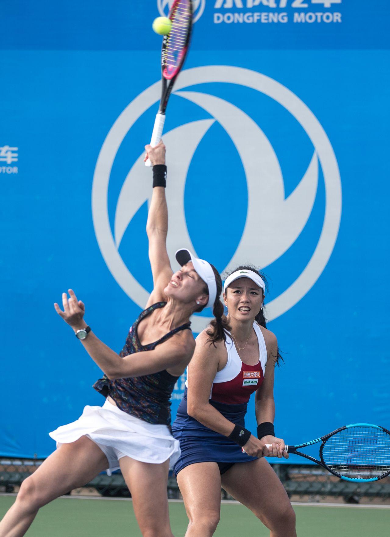 Hingis 2017 WTA Wuhan Open in Wuhan 09 26 2017