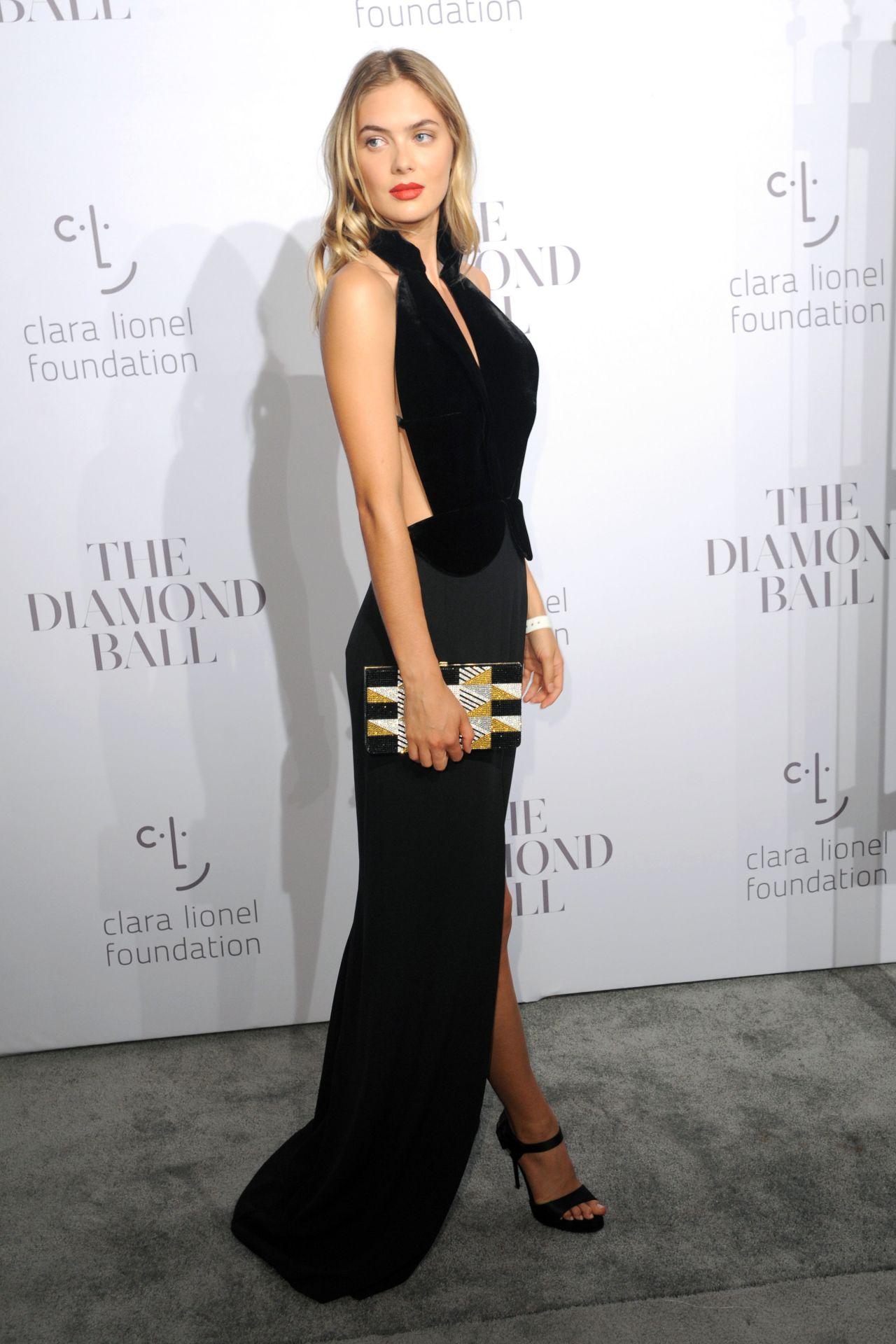 Megan William – Rihanna's Clara Lionel Foundation Diamond Ball in NY 09/14/2017