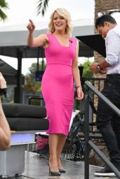 """Megyn Kelly at """"Extra"""" TV Show in Los Angeles 09/19/2017"""