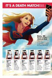 Melissa Benoist - SciFiNow Magazine Issue 137 (2017)