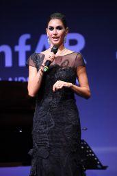 Melissa Satta – amfAR Gala Milano Red Carpet in Milan, Italy 09/21/2017