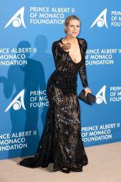 Michelle Hunziker – Monte Carlo Gala for the Global Ocean, Monaco 09/28/2017