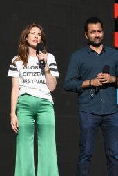 Michelle Monaghan – Global Citizen Festival at Central Park in NYC 09/23/2017