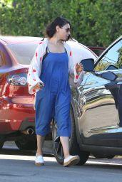 Mila Kunis Street Style - Los Angeles 09/28/2017
