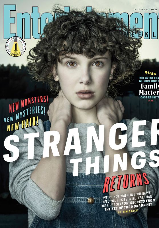 Millie Bobby Brown - Entertainment Weekly October 6, 2017