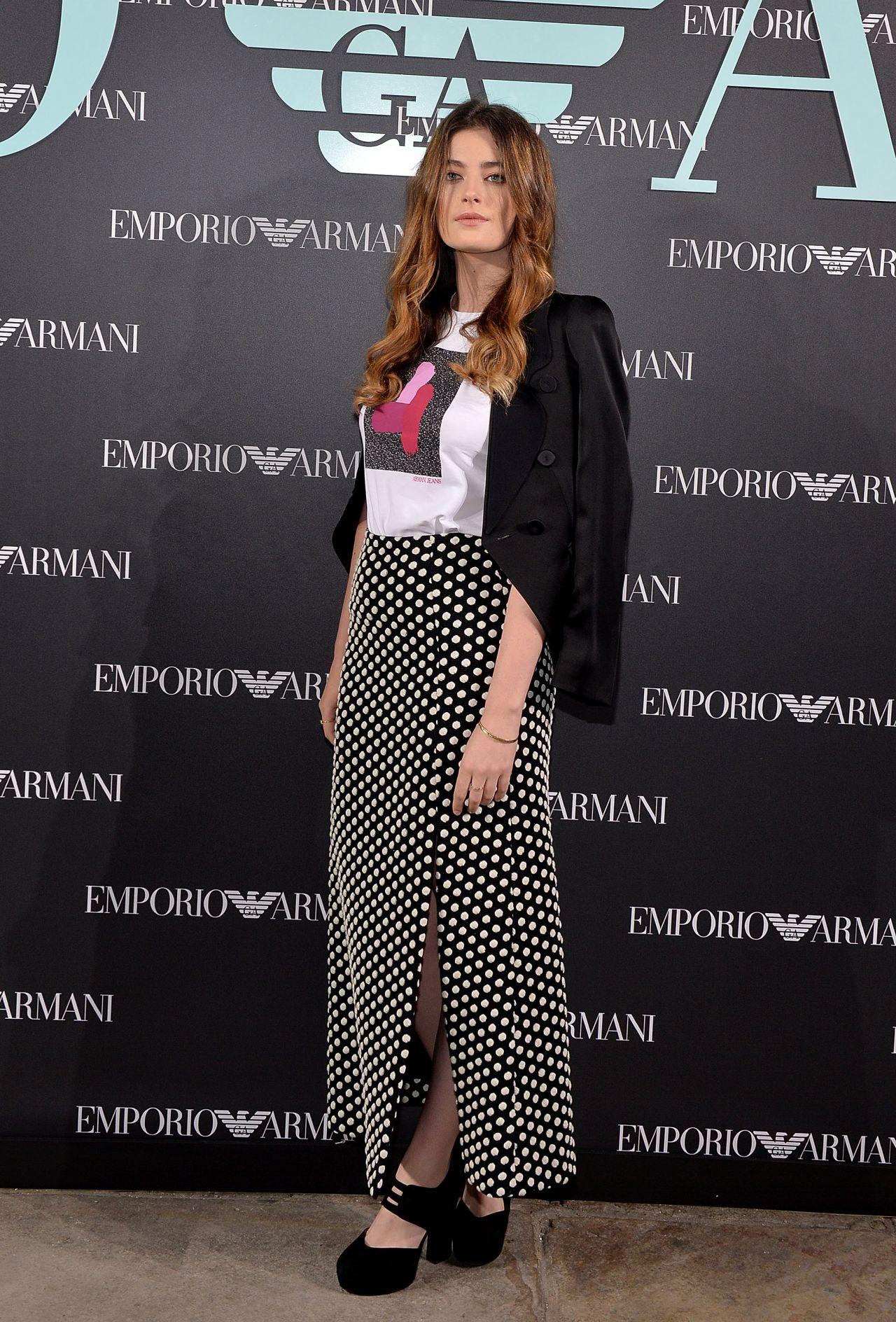 Millie Brady - Emporio Armani Show in London 09/17/2017