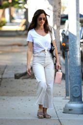 Minka Kelly in Casual Attire - LA 09/18/2017