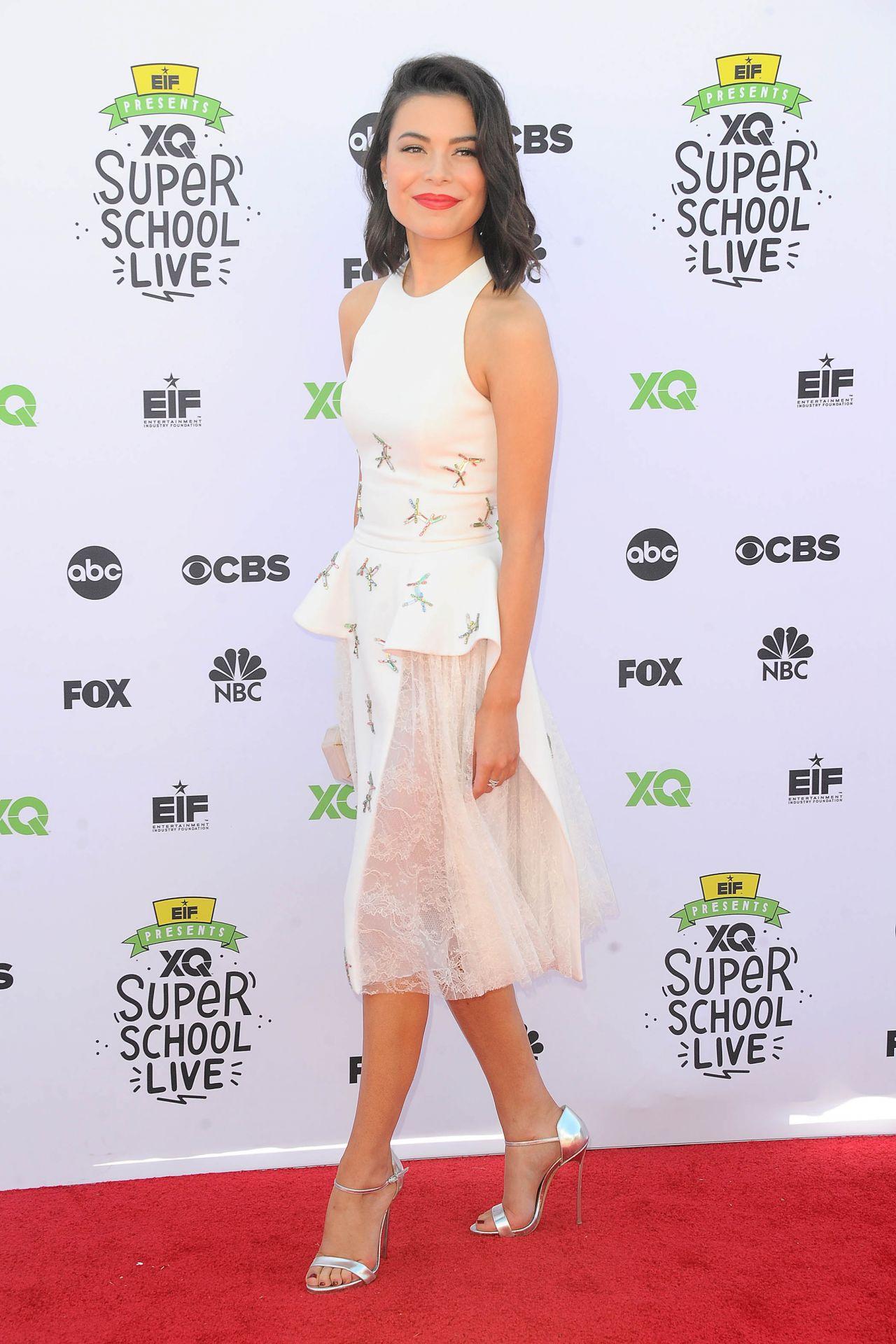 Miranda Cosgrove - EIF Presents: XQ Super School Live at the Barker Hangar in LA 09/08/2017
