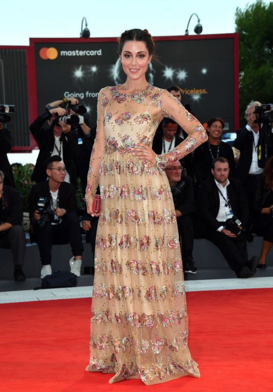 """Miriam Candurro – """"La Fidele"""" Premiere in Venice 09/08/2017"""