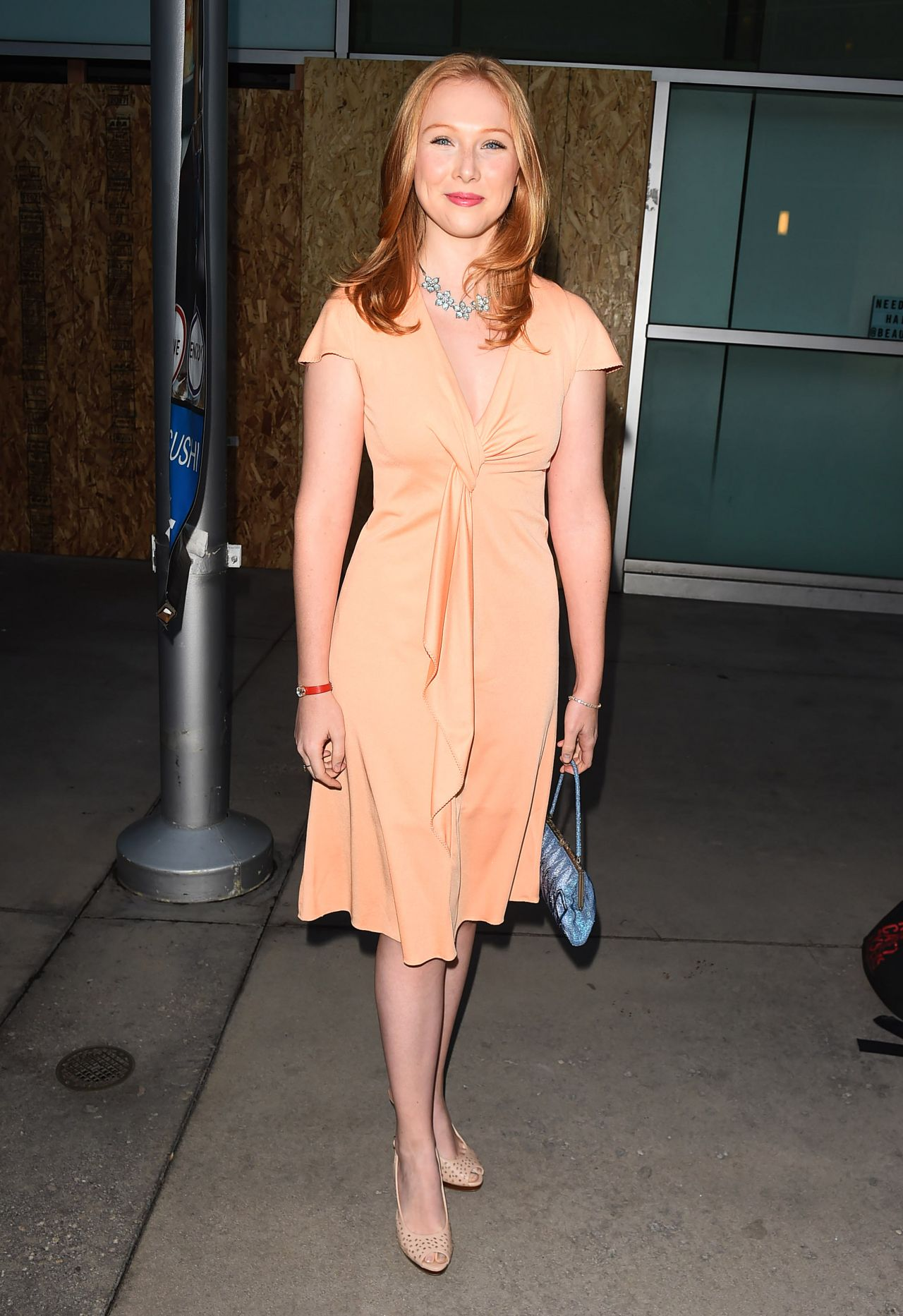 Molly Quinn The Last Rampage Movie Premiere In Los