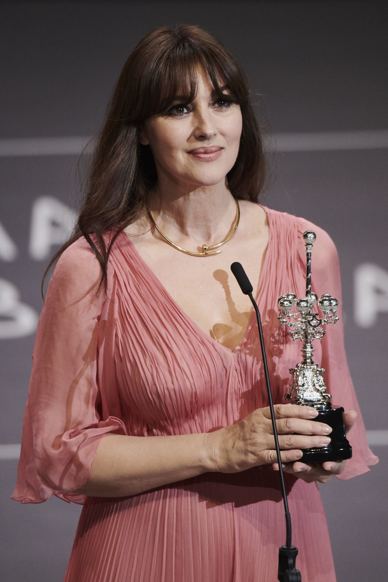Monica Bellucci Donostia Award 65th San Sebastian Film