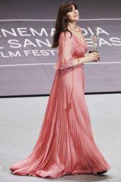 Monica Bellucci - Donostia Award, 65th San Sebastian Film Festival 09/27/2017