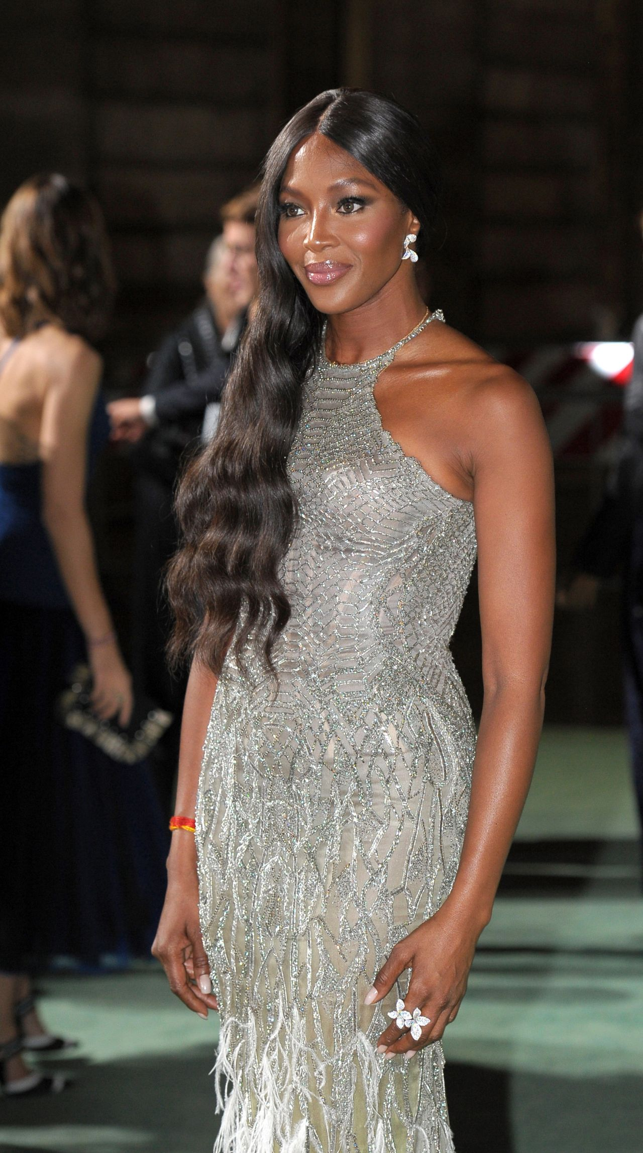 Naomi Campbell Green Carpet Fashion Awards Italia 2017