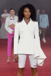 Naomi Campbell – Off-White Fashion Show in Paris 09/28/2017